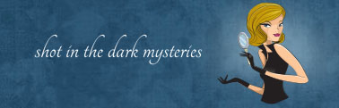 Shot In The Dark Mysteries Murder Mystery Games Logo