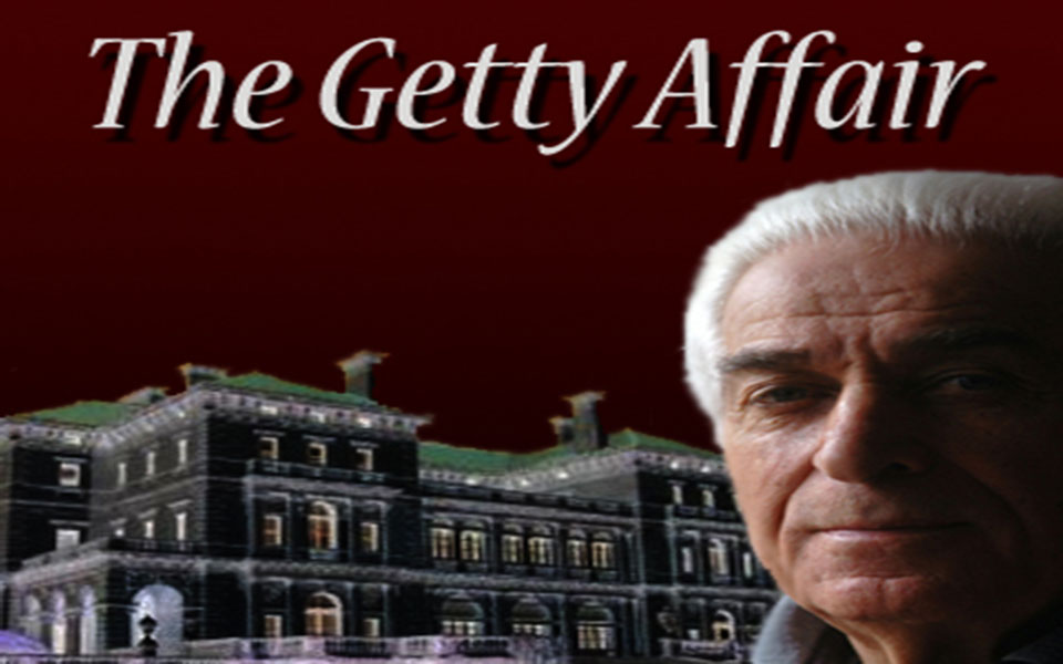 The Getty Affair Murder Mystery Party Game