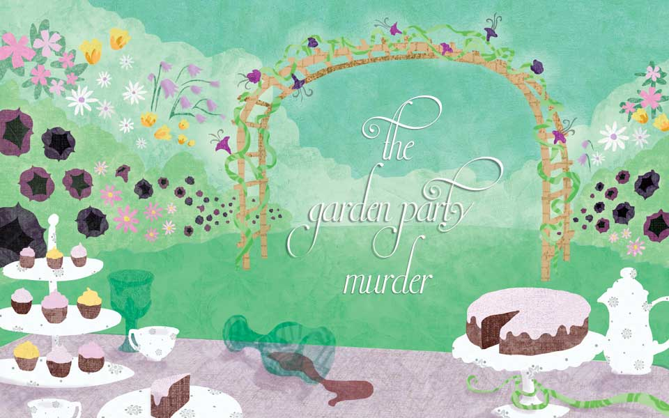 Garden Party Murder Mystery Party Game
