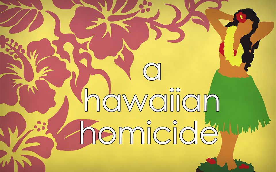 A Hawaiian Homicide Murder Mystery Party Game