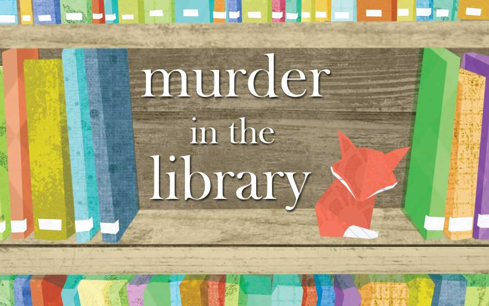 murder in the library murder mystery game for 6