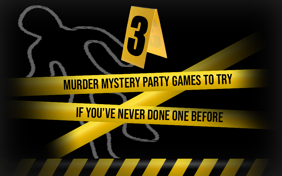 3 Murder Mystery Party Games If You've Never Done One Before Cover Image Shot In The Dark Mysteries