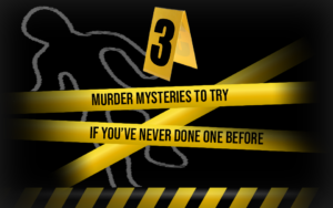 3 Murder Mysteries If You've Never Done One Before Cover Image Shot In The Dark Mysteries