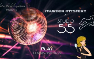 Murder Mystery Event Barrie Ontario Play 1970s Disco Theme