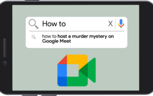 Shot In The Dark Mysteries' How to Host a Murder Mystery on Google Meet