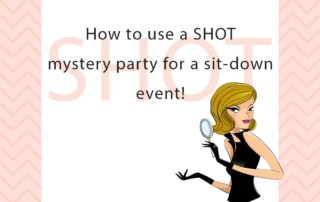 Murder Mystery Packages for Large Sit-Down Events