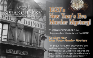 New Years Eve 2019 at The Speakcheasy