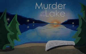 Murder on the Lake Mystery Party Game