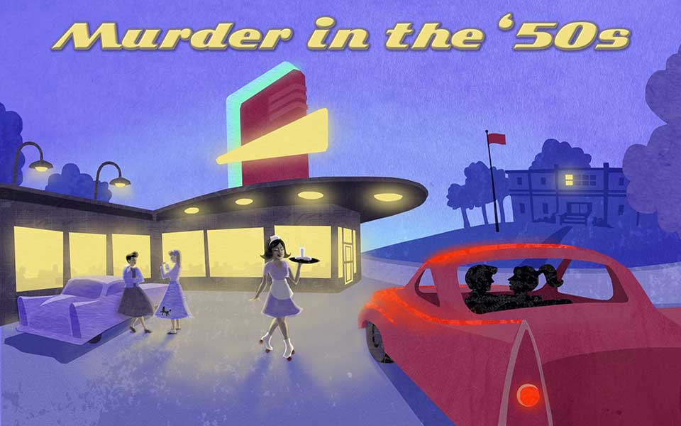 Murder in the 50's, Murder Mystery Game