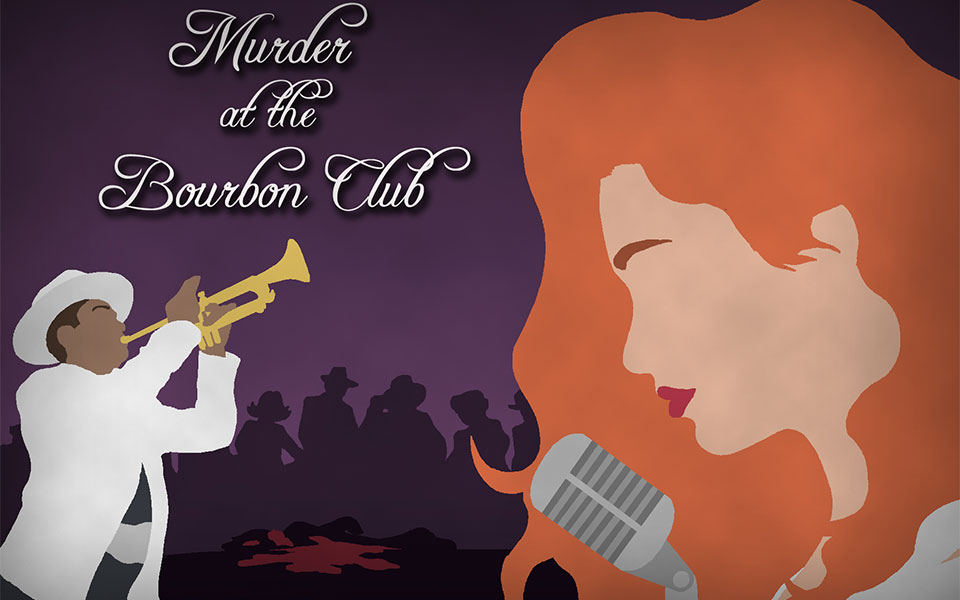 Murder at the Bourbon Club, Murder Mystery Game