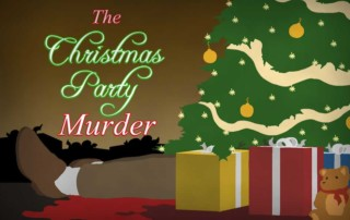 The Christmas Party Murder, Murder Mystery Game