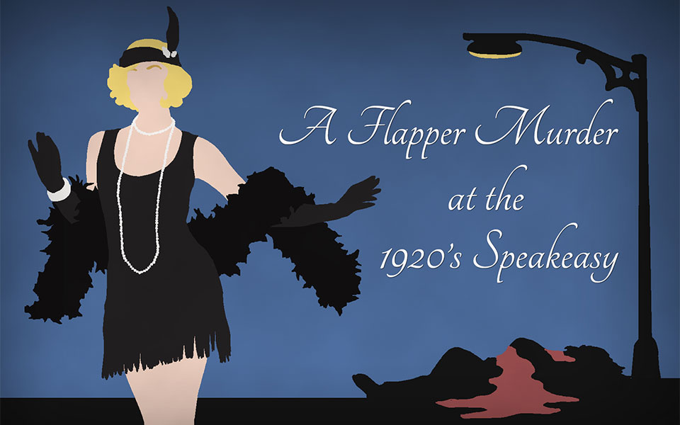 A Flapper Murder at the 1920's Speakeasy, Murder Mystery Game