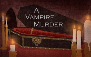 The Vampire Murder, Murder Mystery Game