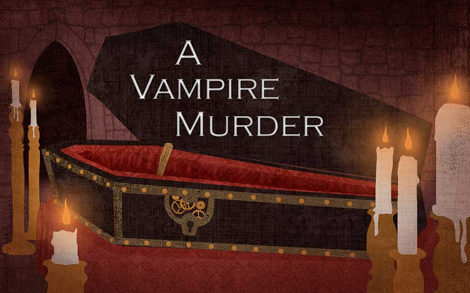 A Vampire Murder, Murder Mystery Game
