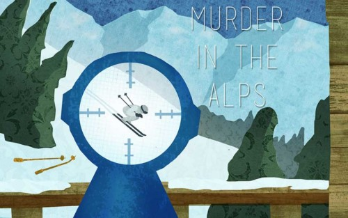 Murder in the Alps Mystery Party Game