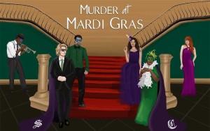 Murder at Mardi Gras, Murder Mystery Game