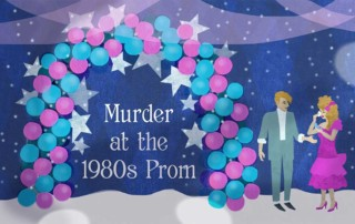 Murder at the 1980's Prom, Murder Mystery Game