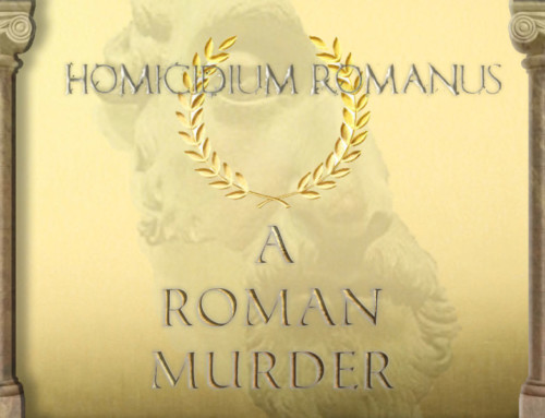 A Roman Murder Mystery Party Game